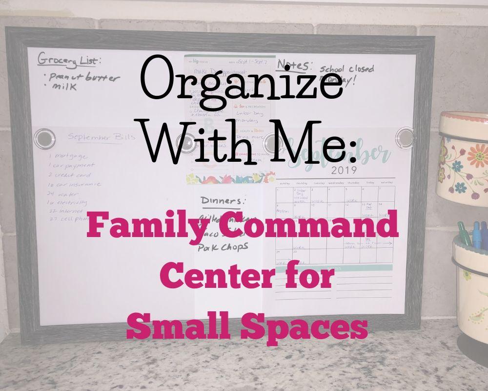 dry erase command center