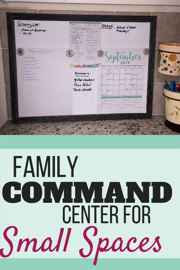 Organize With Me: Family Command Center