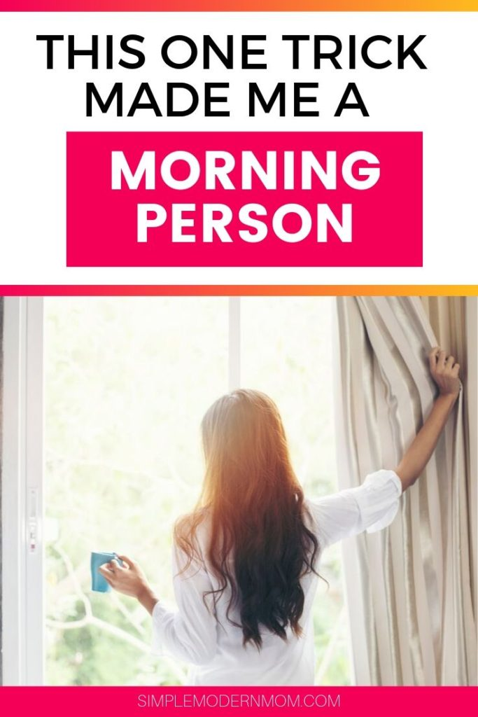 woman looking out the window in the morning and drinking coffee; morning person