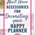 best products to decorate your happy planner