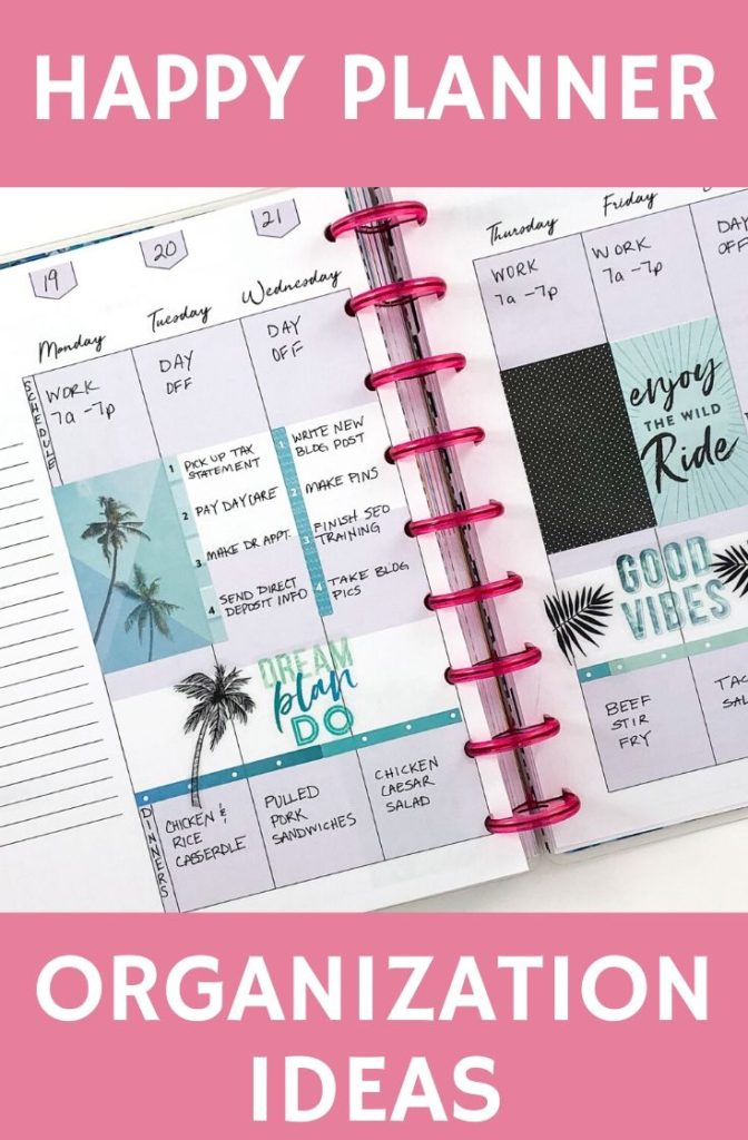 These Planner Organization Tips Will Keep Your Life On Track