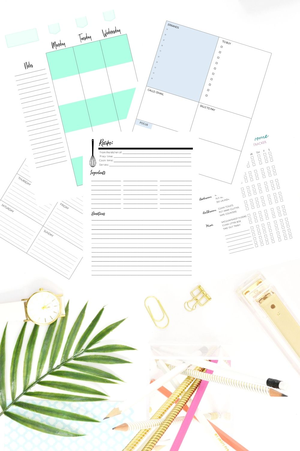 top 10 happy planner printables