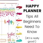 5 Tips All Happy Planner Beginners Need to Know