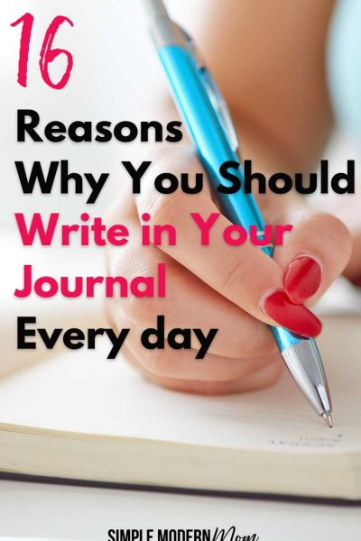 should I write in my journal everyday?