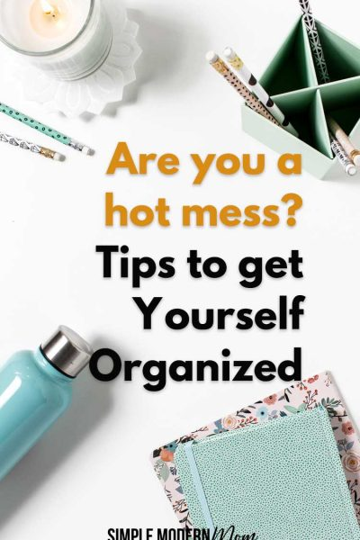 tips to get yourself organized