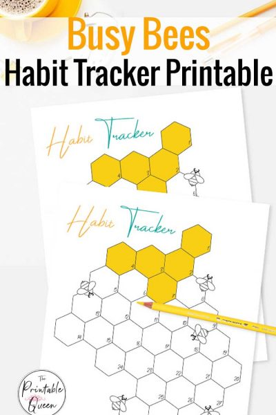 Busy Bees Habit Tracker