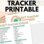 Healthy Habit Tracker Printable