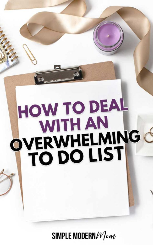 Effective Ways to Deal with an Overwhelming To Do List
